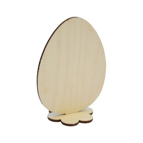 L-485 Деревянная заготовка Яйцо пасхальное 7*10 см Астра