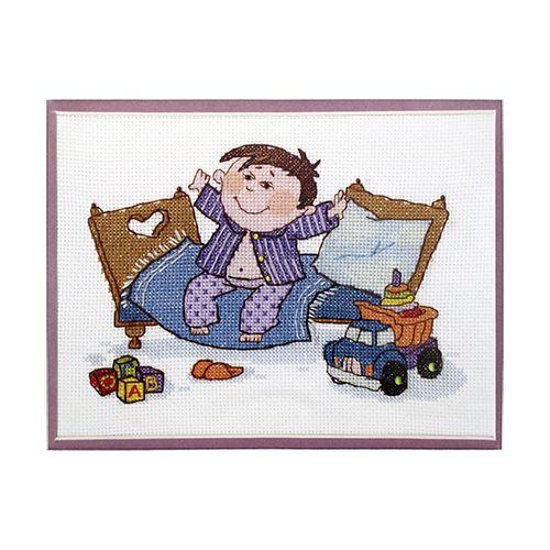ВТ-029 Набор для вышивания 'Чарівна Мить' Crystal Art 'Маленький разбойник', 20*15 см