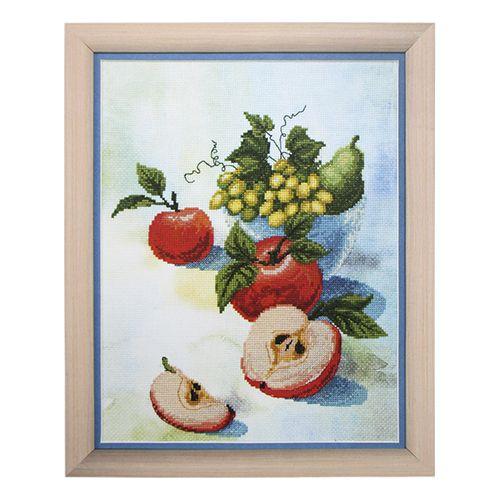 ВТ-502 Набор для вышивания 'Чарівна Мить' Crystal Art 'Акварельные яблочки', 20*26 см
