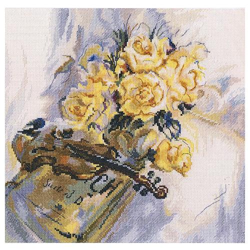 М548 Набор для вышивания RТО 'Сюита для скрипки', 30*29,5 см