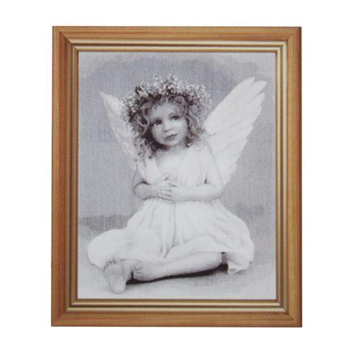 764 Набор для вышивания Hobby&Pro 'Ангелочек', 33*43 см фото