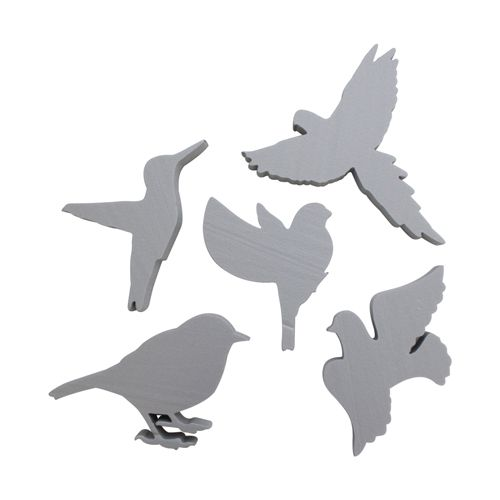 Набор фигурок из пенопласта 'Птицы №1'(5шт),10*2см