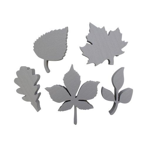 Набор фигурок из пенопласта 'Листья №1'(5шт),10*2см