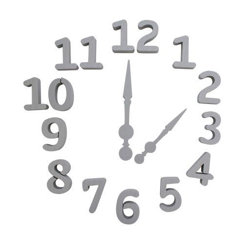 Набор фигурок из пенопласта 'Цифры' от 1до 12, стрелки для часов ,8*2см
