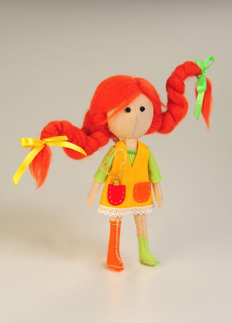 ПФ-1205 Набор для изготовления текстильной игрушки из фетра 'Вредина', 16,5 см, 'Перловка'