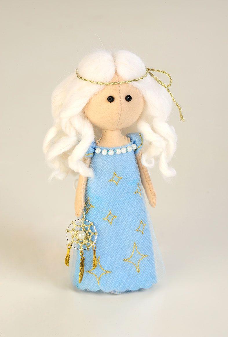 ПФ-1202 Набор для изготовления текстильной игрушки из фетра 'Фея Сновидений', 17 см, 'Перловка'