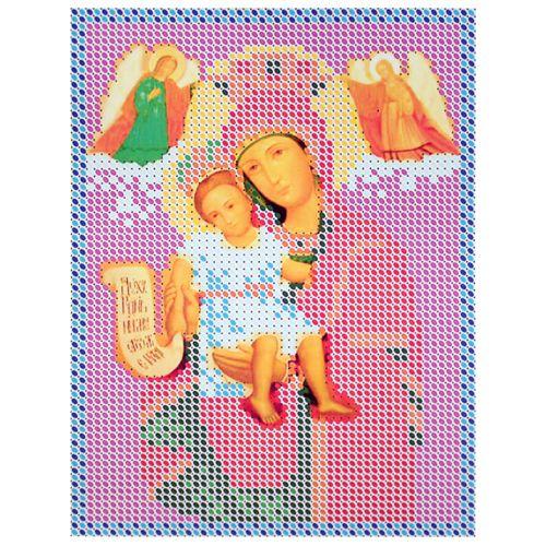 КР-05-055 Набор для вышивания бисером 'Достойно есть', 14,5*11 см