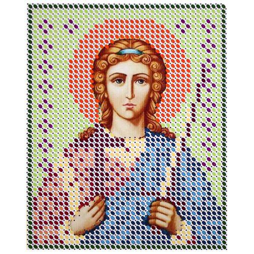 КР-05-023 Набор для вышивания бисером 'Ангел хранитель', 8*10 см