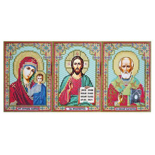 ВК-04-004 Набор для вышивания бисером 'Иконостас', 13,5*28 см
