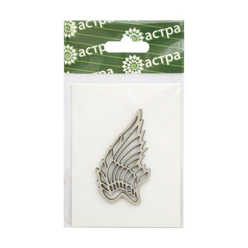 ВК-30 Декоративный элемент 'Крылья', 3*5 см, упак./2 шт., 'Астра'