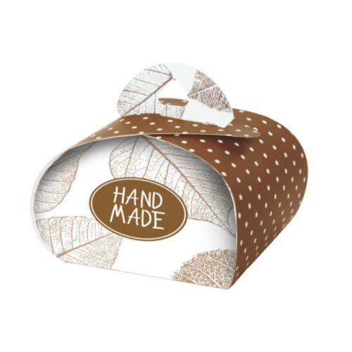 HY00910 Подарочная коробочка 'Бонбоньерка' Hand Made chocolate, упак./2 шт.
