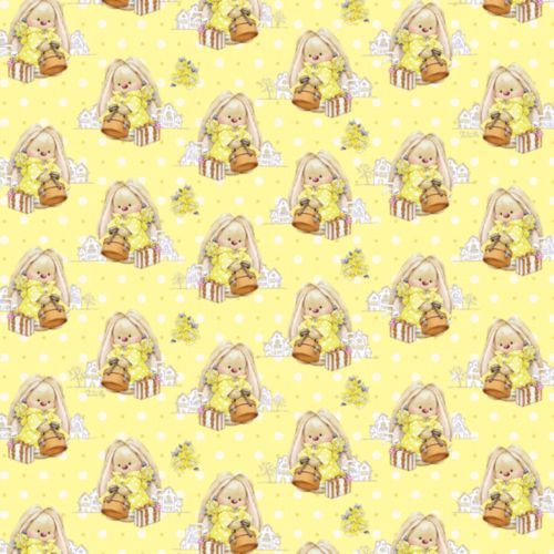 HY00804 Упаковочная бумага 'ЗайкаМи' 'Чемоданное настроение', 67,4*97,4 см