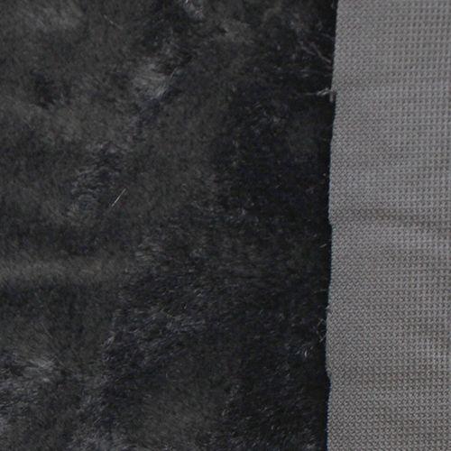 М-5006 Мех 'Мутон' средний ворс 50 см*56 см 100%п/э цв.черный