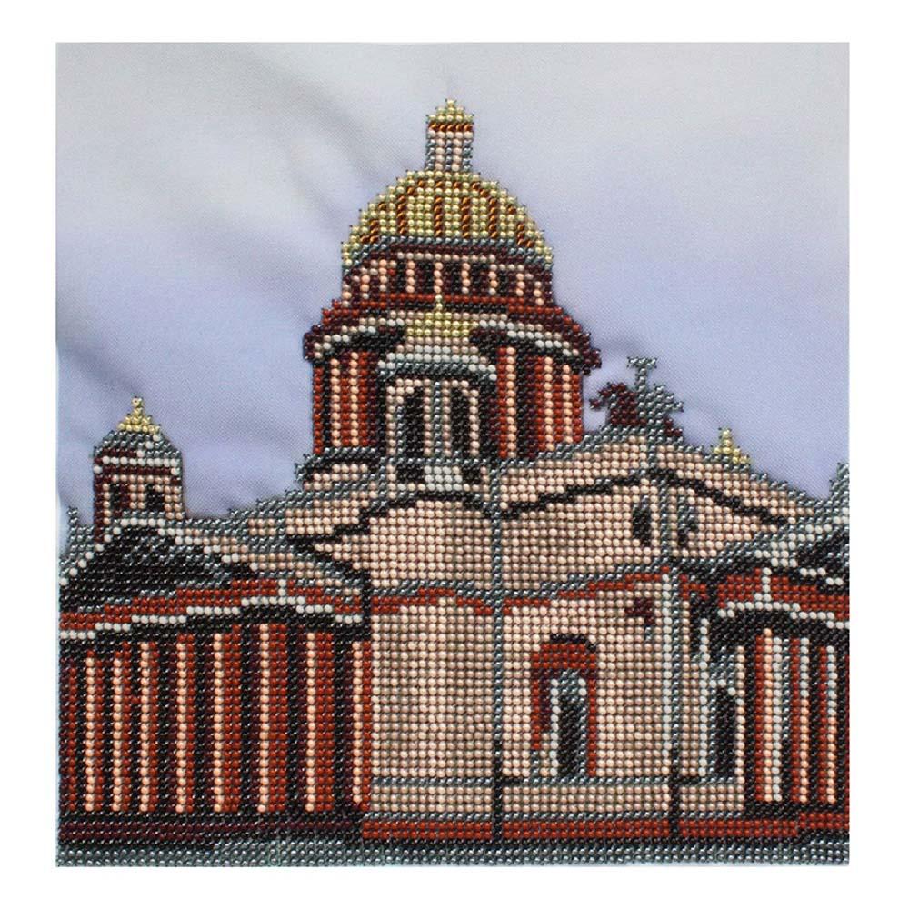 БН-3219 Набор для вышивания бисером Hobby&Pro 'Исаакиевский собор'