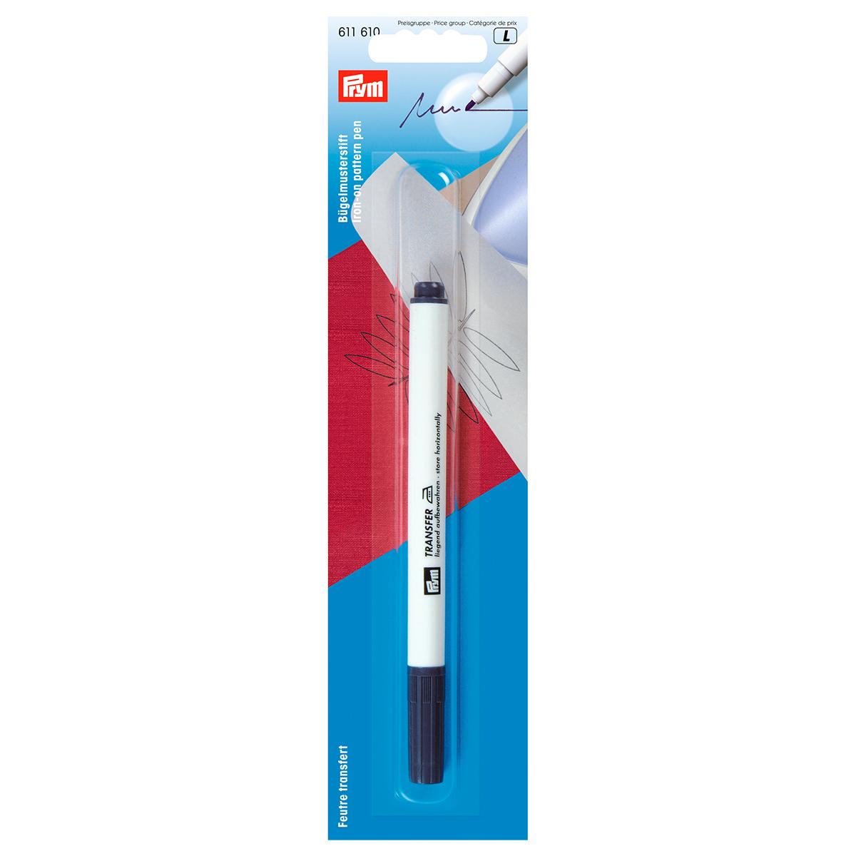 611610 Маркер для термо-рисунков,синий Prym