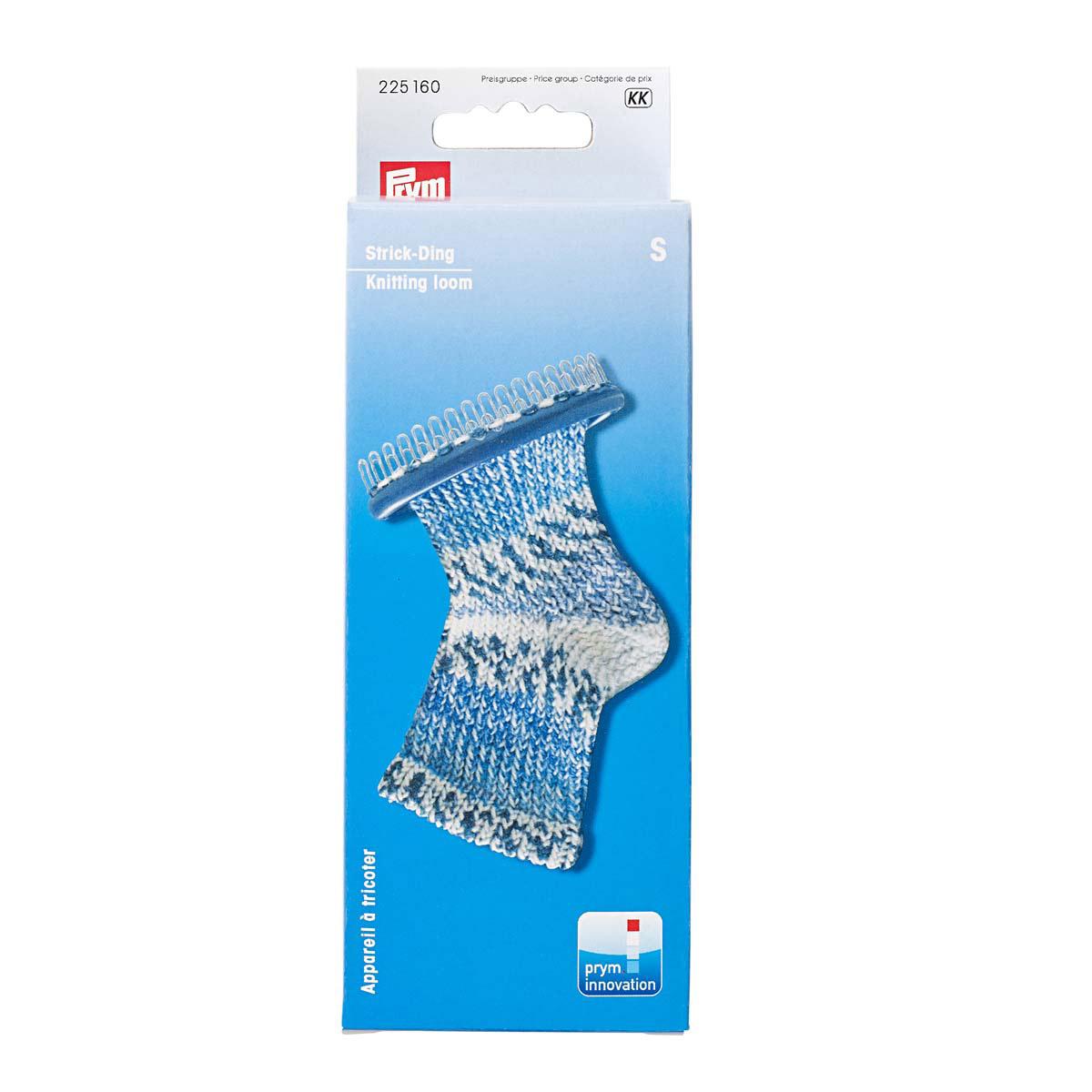 225160 Станок с иглой для вязания носков 'S' 28 штифтов, Prym
