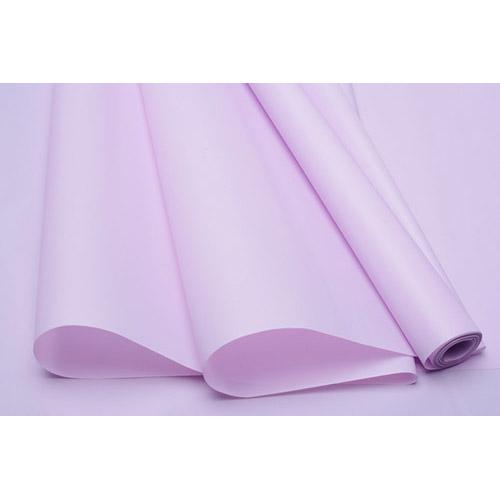 78543 Пленка матовая калька Пастель 60см 200г без втулки фиолетовый светлый