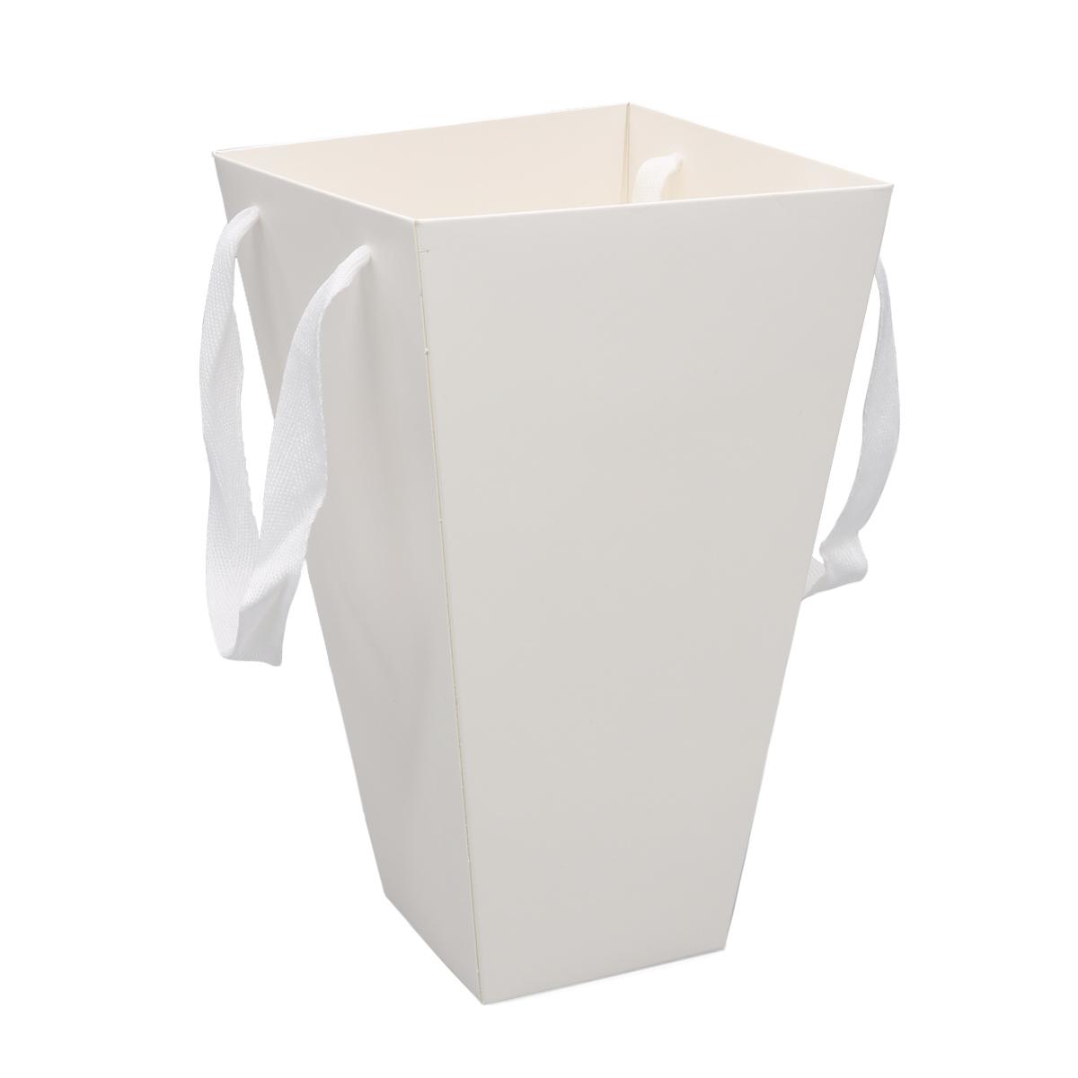 51996 Плайм пакет для цветов трапеция H27 D15/9 белый