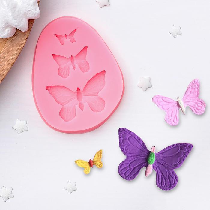 1166851 Молд 7,5*6*1 см 'Бабочки'