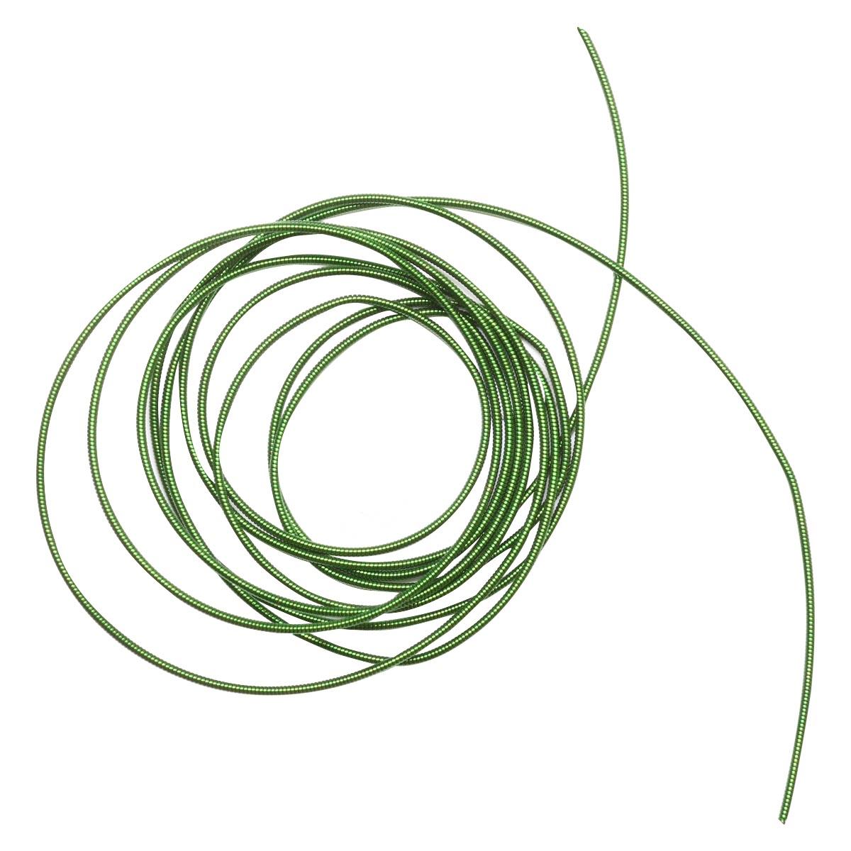 КЖ008НН1 Канитель жесткая Зеленый 1 мм, 5 гр. +/- 0,1 гр.
