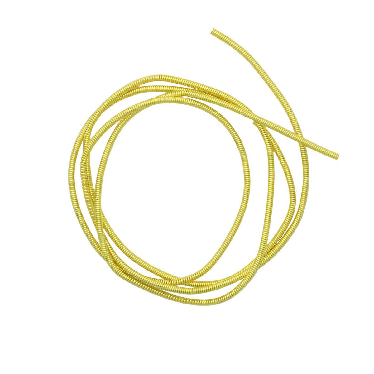 КЖ011НН1 Канитель жесткая Желтый 1 мм, 5 гр. +/- 0,1 гр.