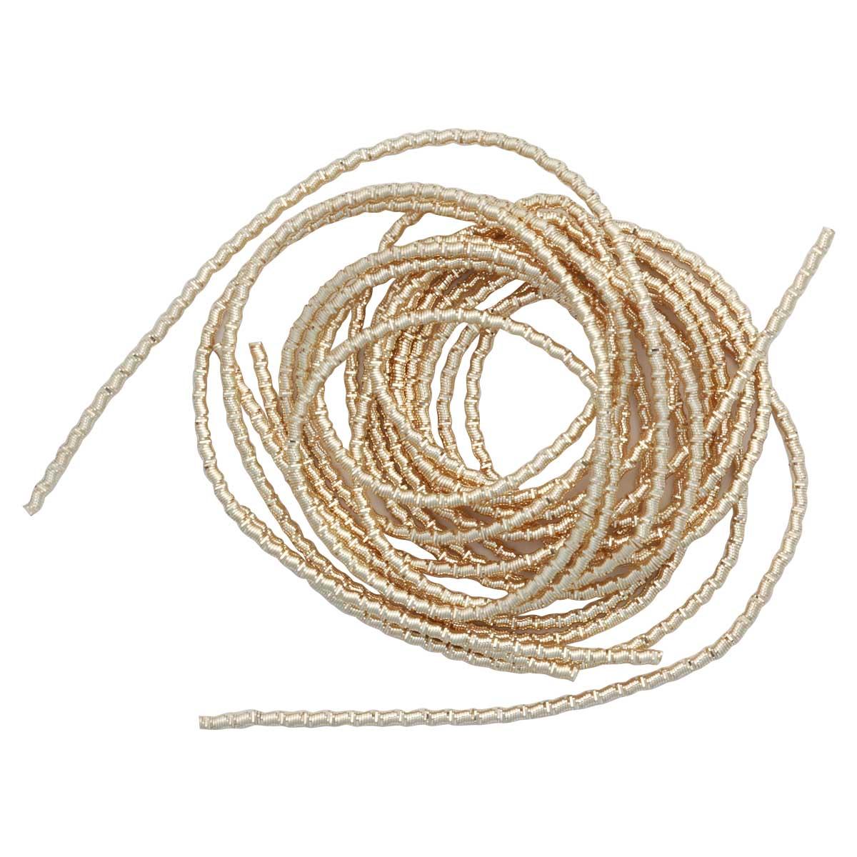 ТБ005НН2 Трунцал Бамбук светлое-золото 2 мм, 5 гр. +/- 0,1 гр.