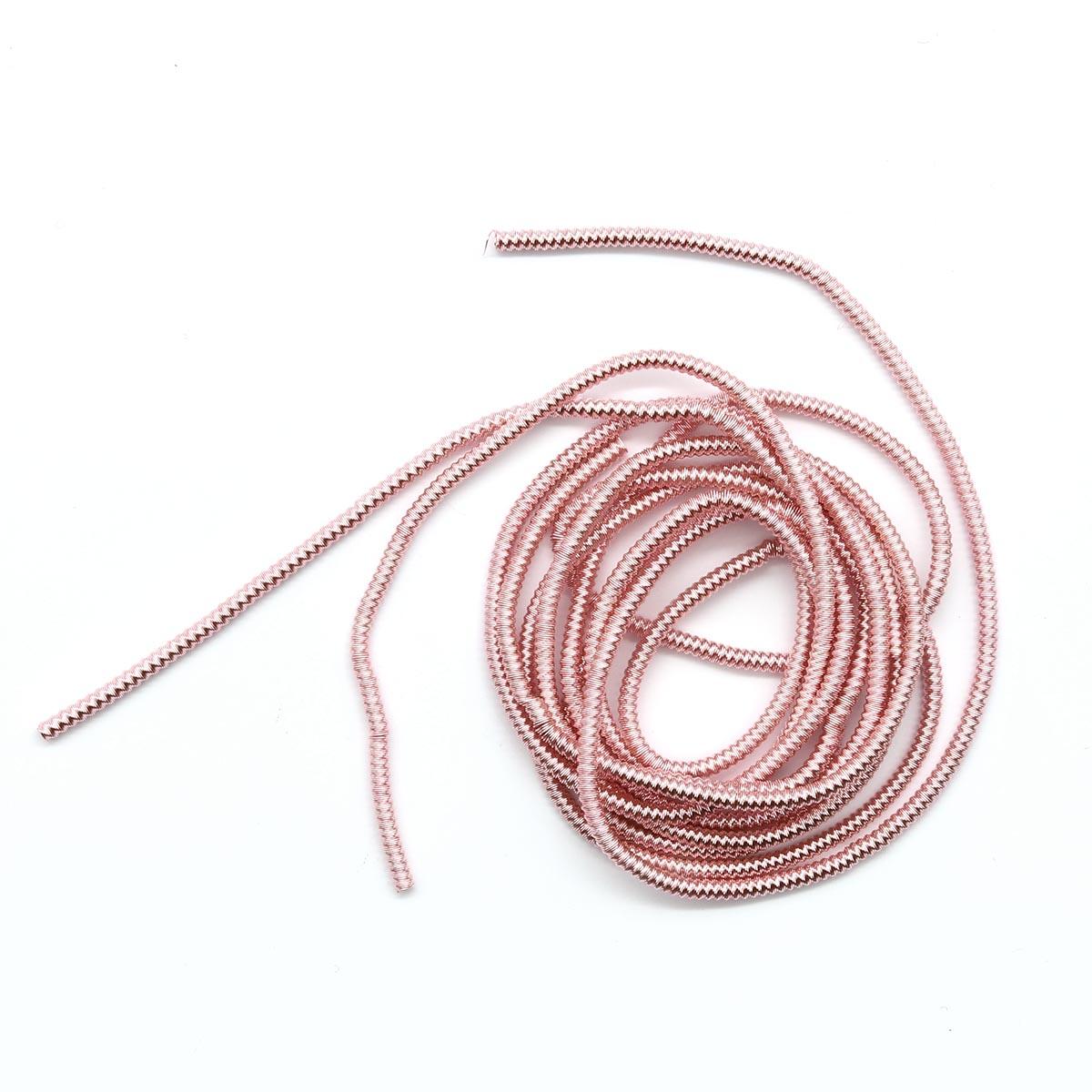 ТЗ008НН1 Трунцал зигзаг Розовый 1,5 мм 5 гр. +/- 0,1 гр.