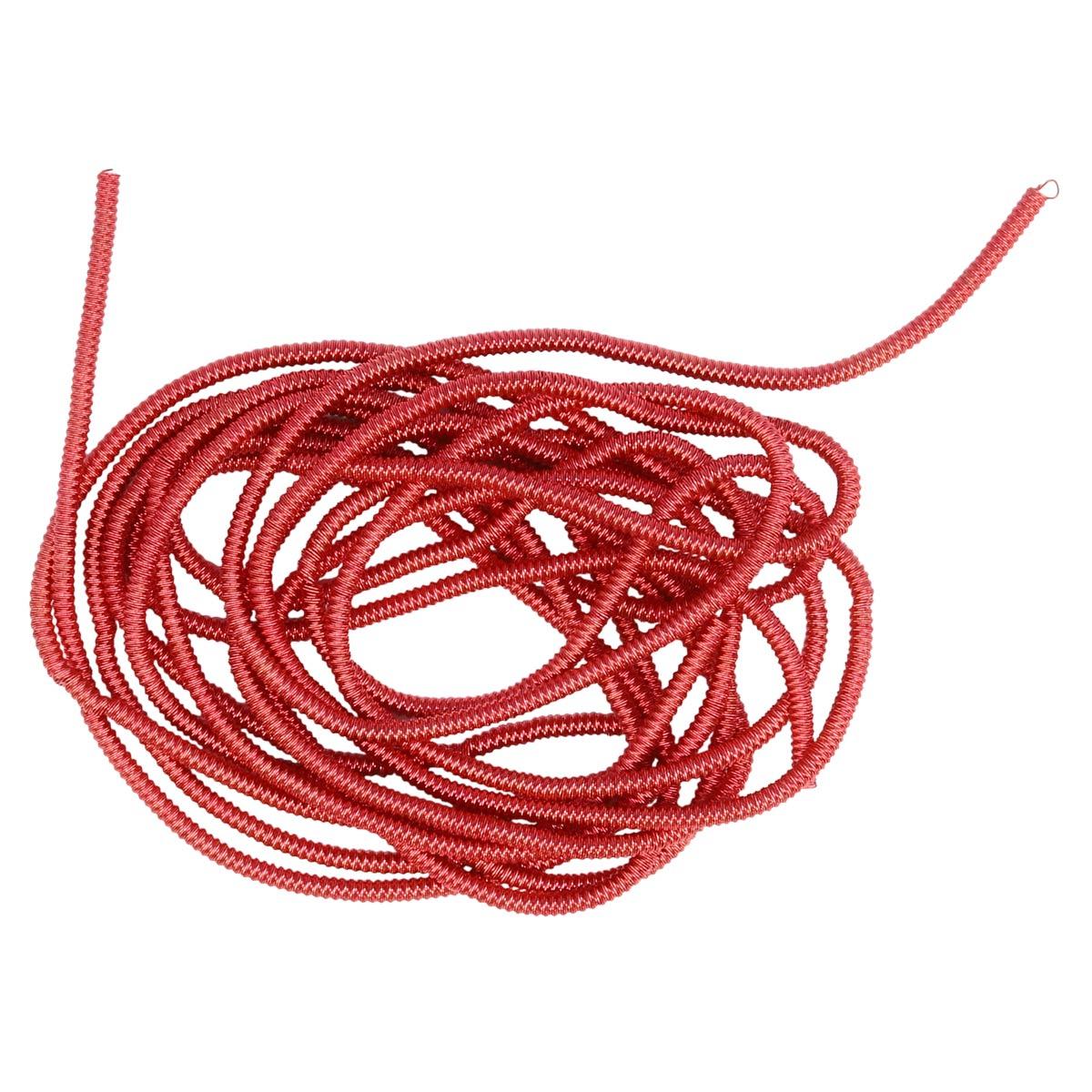ТЗ009НН1 Трунцал зигзаг Розово-красный 1,5 мм 5 гр. +/- 0,1 гр.
