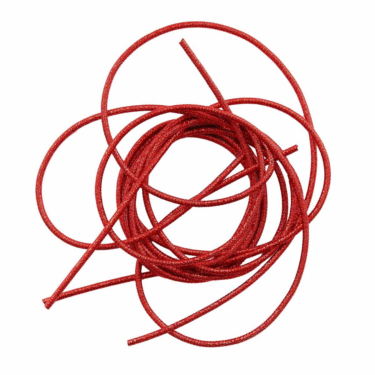 КЯ001НН1 Канитель металлизированная Красный 1 мм 5 гр. +/- 0,1 гр.
