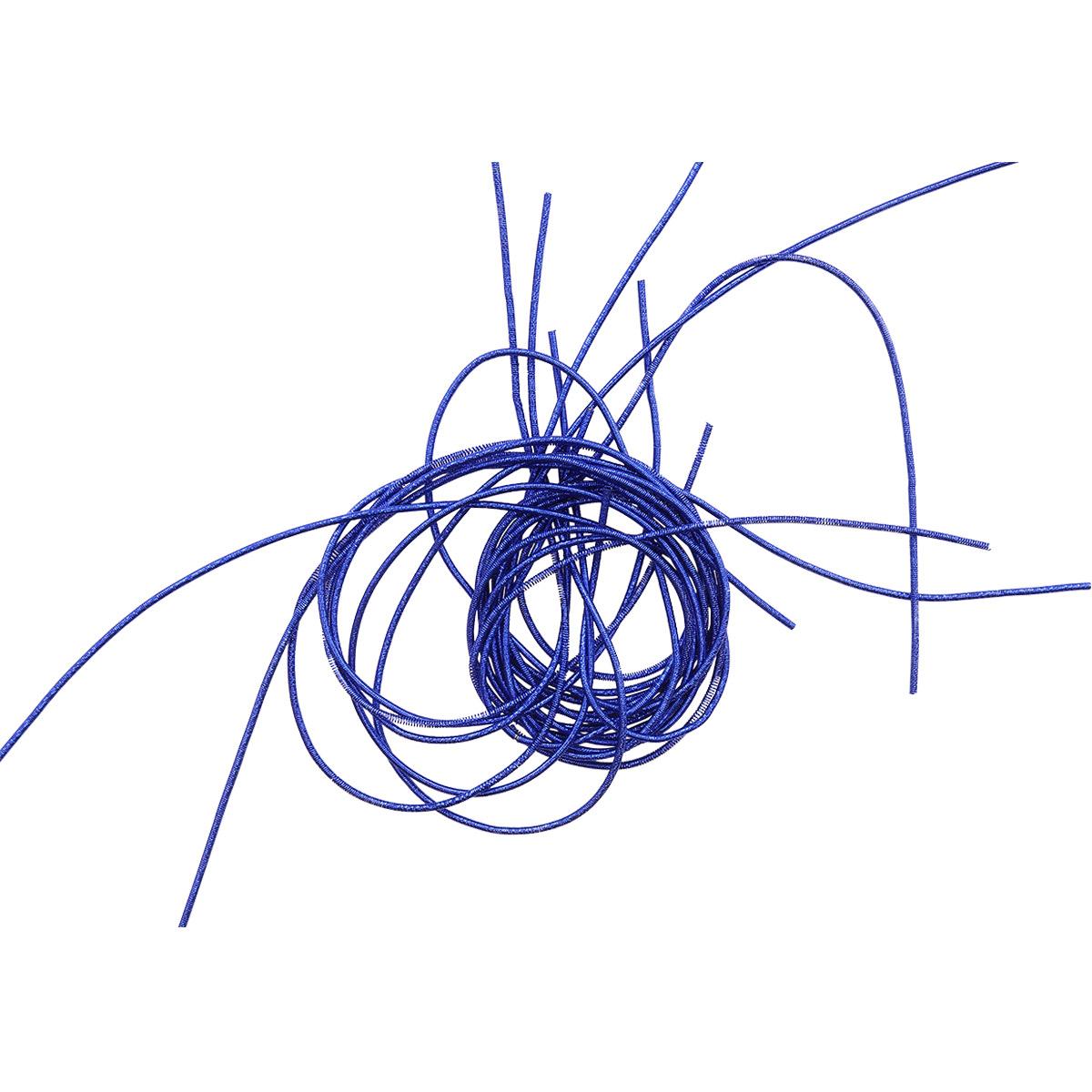 КЯ007НН1 Канитель металлизированная Синий 1 мм 5 гр. +/- 0,1 гр.