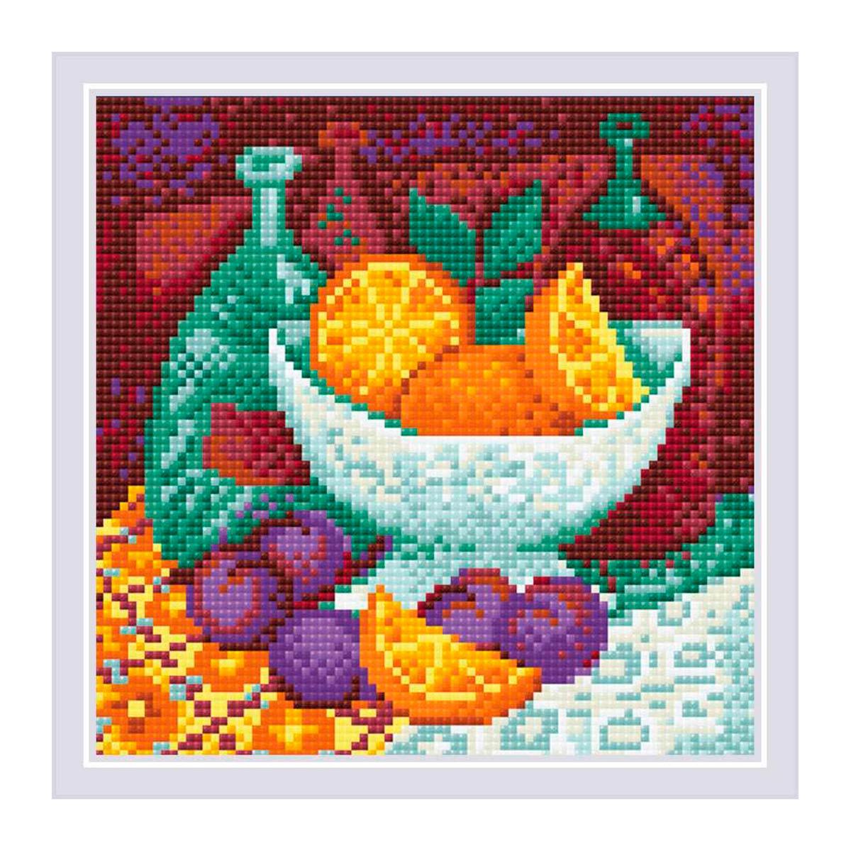 AM0034 Набор алмазной мозаики Риолис «Апельсины» 20*20см фото