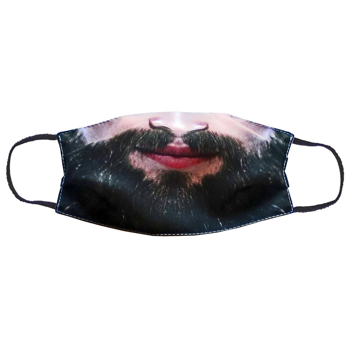 Повязка (маска) принтованная от пыли 'Борода'