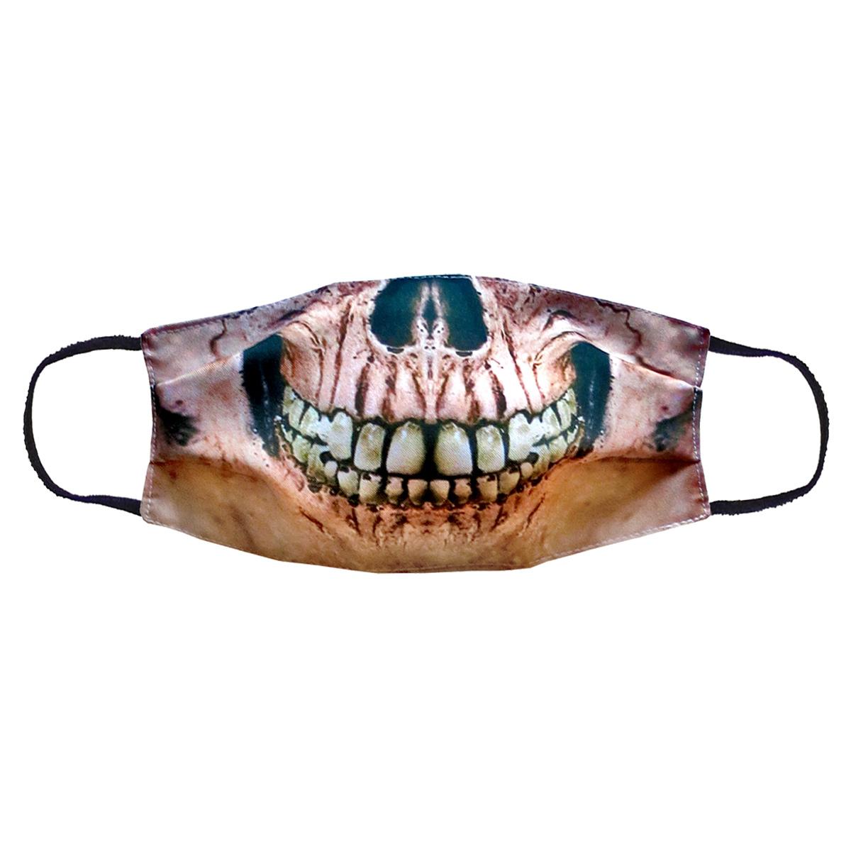 Повязка (маска) принтованная от пыли 'Черепок'