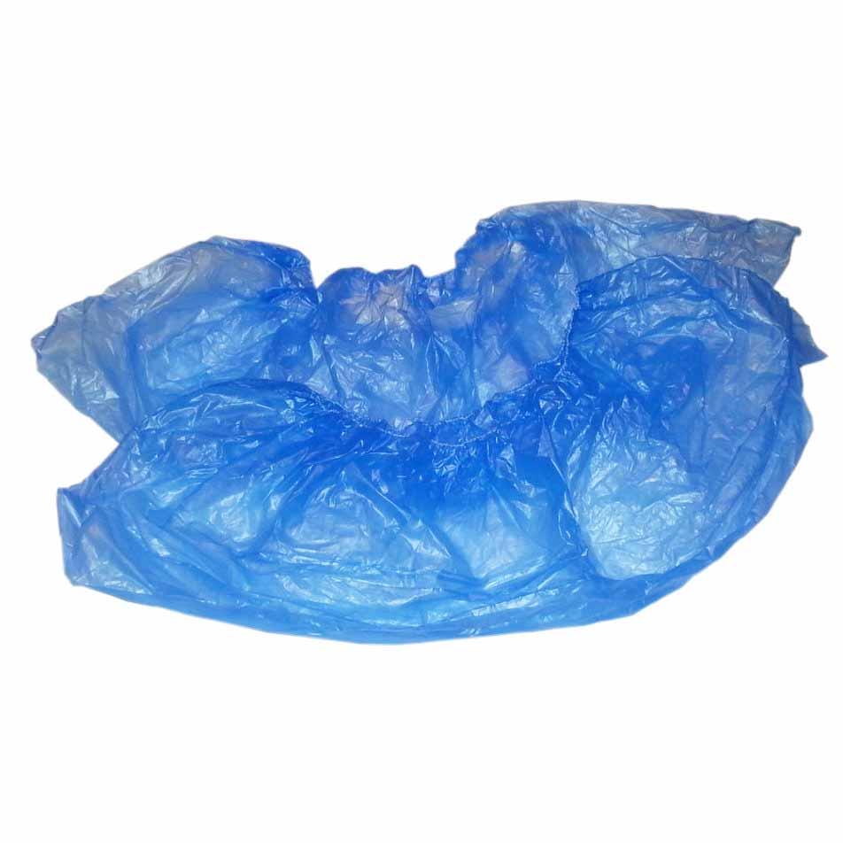 Бахилы ПНД голубые ПРОЧНЫЕ с 2-ой резинкой 100 шт (50уп/кор) 10%