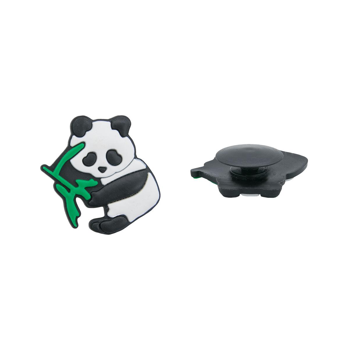 Украшение для обуви и сумок «Панда»