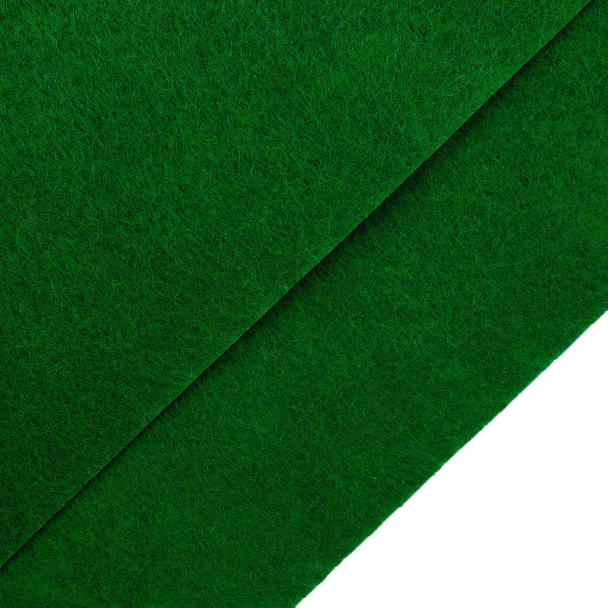26959 Фетр жёсткий 1,0мм, 20*30 см, 100 % п/э, уп/2шт, зеленый