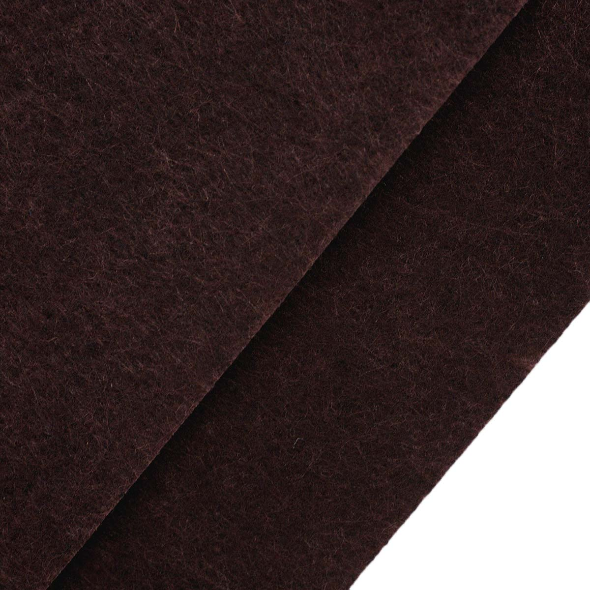 26960 Фетр жёсткий 1,0мм, 20*30 см, 100 % п/э, уп/2шт, т.коричневый
