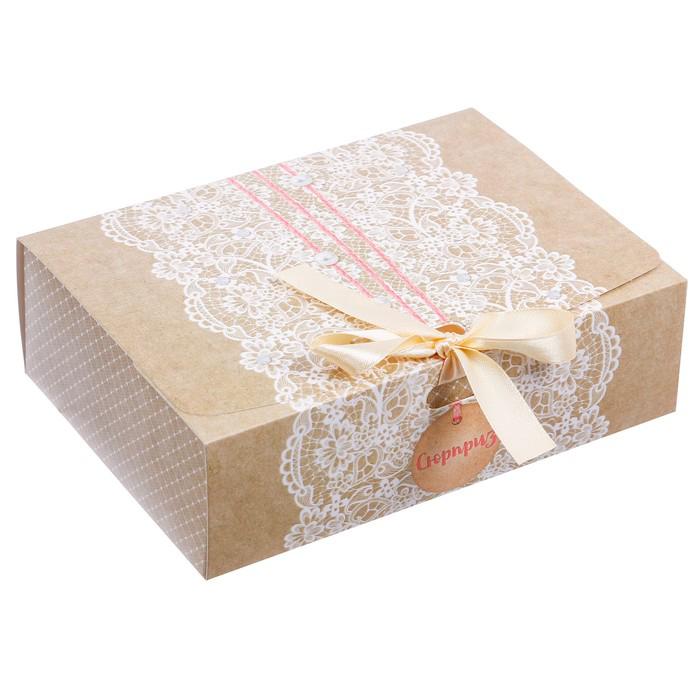 3222425 Складная коробка подарочная «Сюрприз», 16.5*12.5*5 см