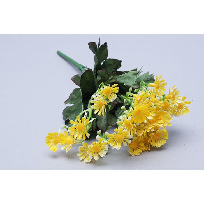 77448 ИЦ Букет Ромашек 32см 5веток ЛАЛАДЖ желтый