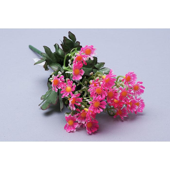 77446 ИЦ Букет Ромашек 32см 5веток ЛАЛАДЖ розовый