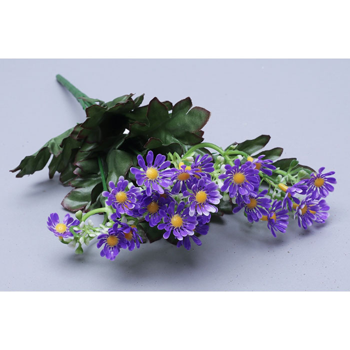77447 ИЦ Букет Ромашек 32см 5веток ЛАЛАДЖ фиолетовый