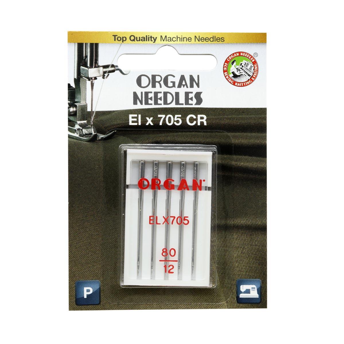 ORGAN иглы EL*705 CR CR 5/80 Blister