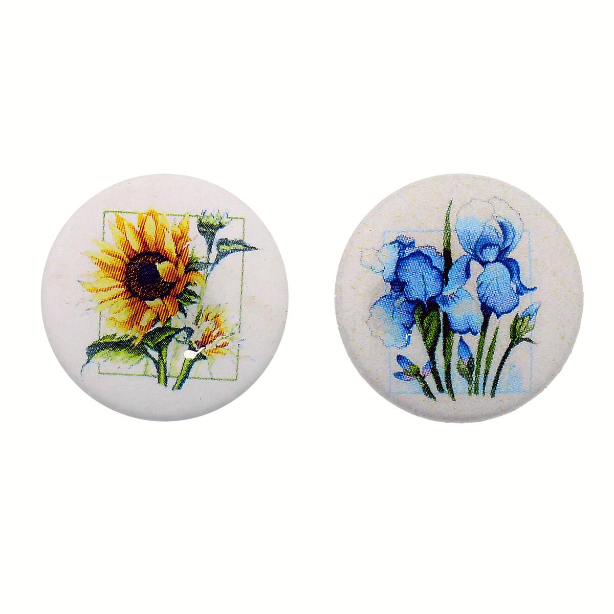 Набор магнитных игольниц для вышивки 'Мелодия цветов', упак/2шт,25*3мм Hobby&Pro