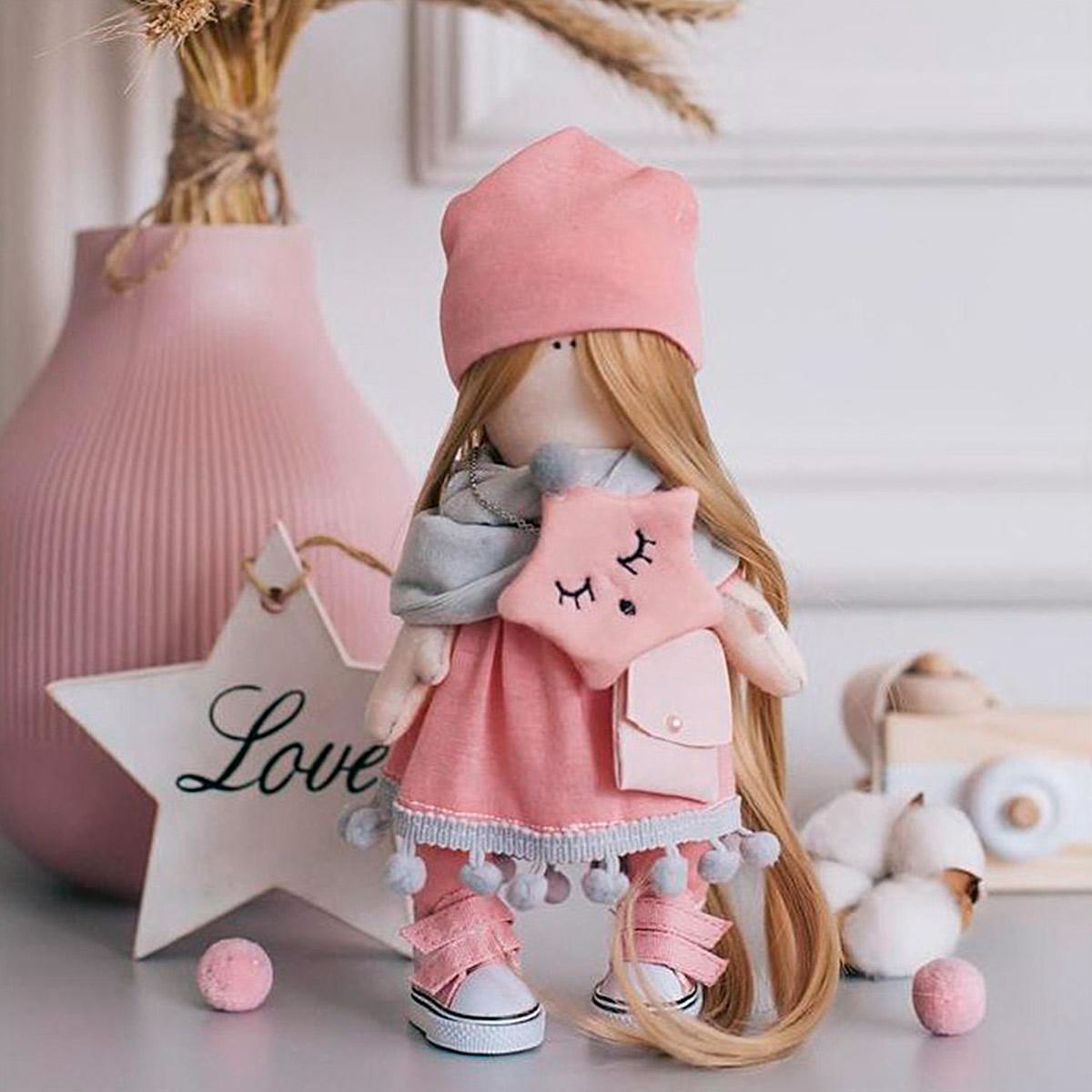 4816581 Мягкая кукла Хелен, набор для шитья 15,6*22.4*5.2 см