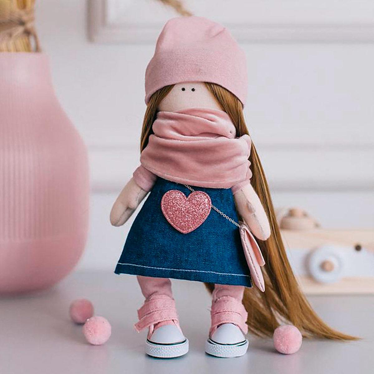 4816586 Мягкая кукла Нати, набор для шитья 15,6*22.4*5.2 см