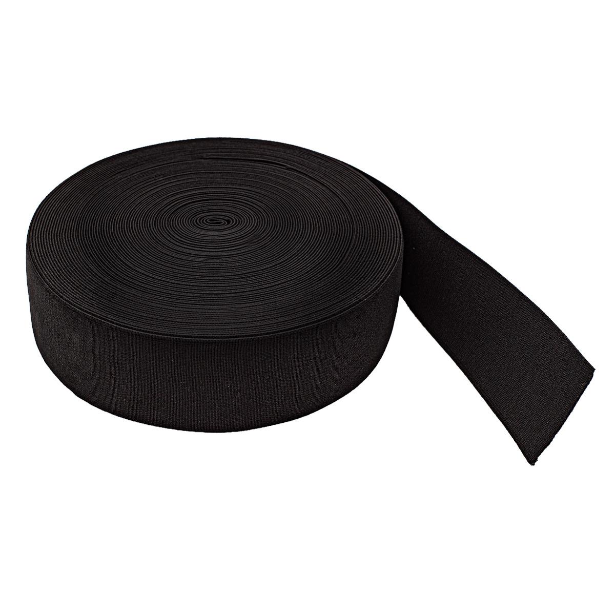 5060Ч Резинка башмачная 60мм*25м, черная