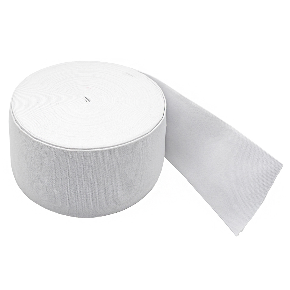 50100Б Резинка башмачная 100мм*25м, белая