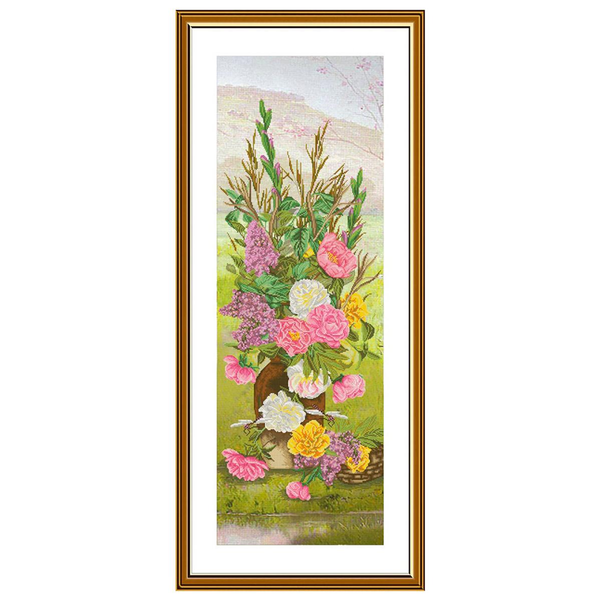 СР6239 Набор для вышивания 'Четыре сезона. Весна'29 x84 см