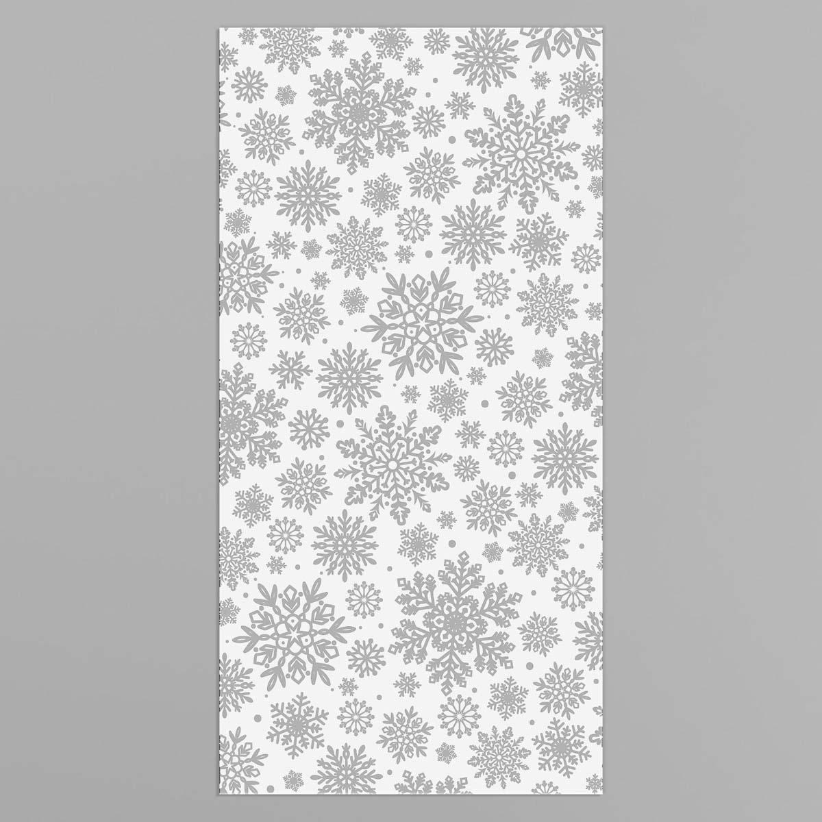 4459108 Пакет подарочный пластиковый «Снежного Нового Года», 15*30 см
