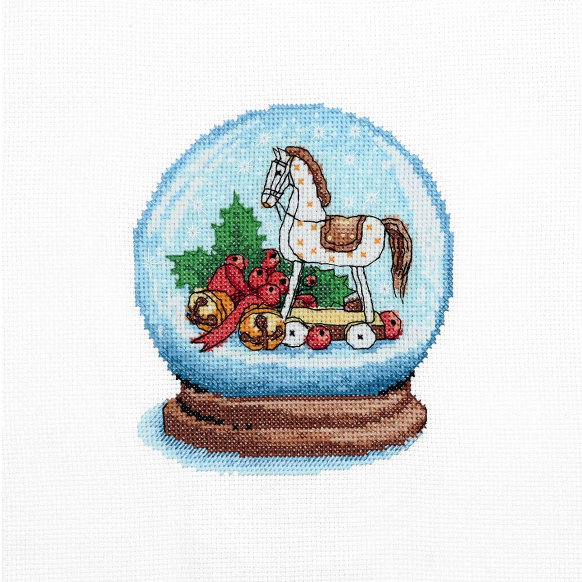 974 Набор для вышивания Hobby&Pro «Любимая лошадка» 11*13см